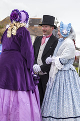 DA12416 (Destinys Agent) Tags: beach up festival costume seaside dress victorian charles dickens broadstairs dickensian