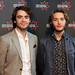 Jamie Blackley and Toby Regbo at the UWantMeToKillHim photocall at Cineworld