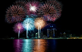 Detroit Fireworks  #flickr12days