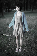 Miss Focus (Rayedi Fadhlun) Tags: portrait canon indonesia pentax smc strobist 450d