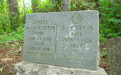 tipton hall cemetery (DeadManTalking) Tags: cemetery oregon vernonia columbiacounty deadmantalking tiptonhall dorgastipton rtipton