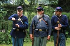 IMG_1321 (temeraire06) Tags: civilwar goosecreek reenactors loudouncounty upperville loudounvalley gettysburgprelude companyc20thmaine