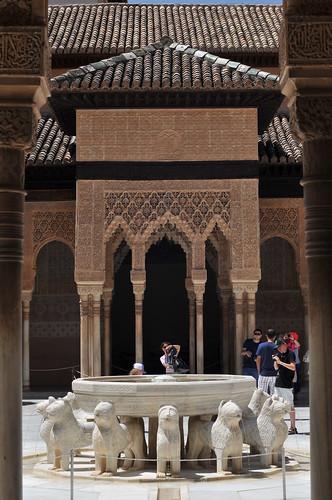 La Alhambra - Patio de los leones - Granada