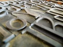 print blocks 2 (siaronj) Tags: metal print letters printing type blocks printers