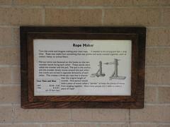 Information on Rope Maker (JeromeG111) Tags: nebraska minolta beatrice 2009 konicaminolta ropemaker konicaminoltadimagez10 homesteadnationalmonumentofamerica