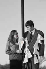 George & Meg - Paperman (zhobot) Tags: costumes cosplay disney paperman easternshorefancon