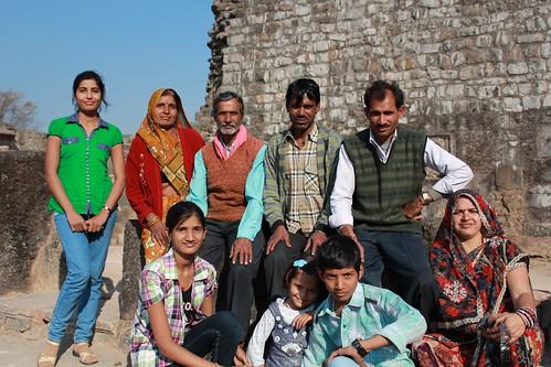 Mandu, Royal Enclave, Hindola Mahal, family