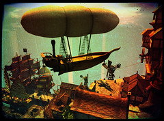 Airship (Hekirekika Jinn) Tags: pirates airship steampunk jpk