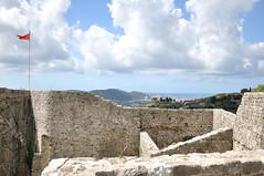 20130911_122232_Twierdza BAR widok na Adriatyk z twierdzy (rysieksen) Tags: gora montenegro crna 2013 czarnogra rysieksen