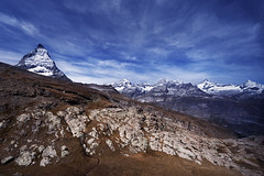 Matterhorn - Zermatt - Switzerland (tigrić) Tags: snow mountains alps nature landscape switzerland swiss peak zermatt matterhorn pennine cervin cervino スイス ツェルマット