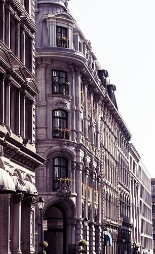 Façade vieux Montreal