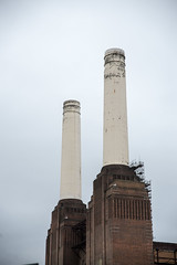 Northern chimneys (Mister Rad) Tags: london battersea londonopenhouse batterseapowerstation nikond600 nikon2485mmf284