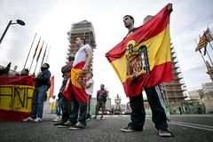 12 d'Octubre Barcelona 2013 (Miquel Monfort) Tags: barcelona espaa spain europa europe bcn catalonia catalunya fascism fascist catalua pasoscatalans fascismo espanya catalogne feixisme espaoles 2013 espanyols