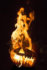 Burning Pumpkins (Jsdeitch) Tags: halloween canon pumpkin fire head mark iii pumpkins burning heads 5d ef