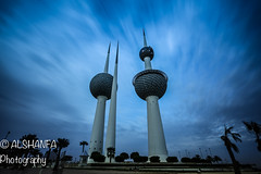 Kuwait Towers (ALSHANFA) Tags: canon landscape towers kuwait leefilter bigstopper