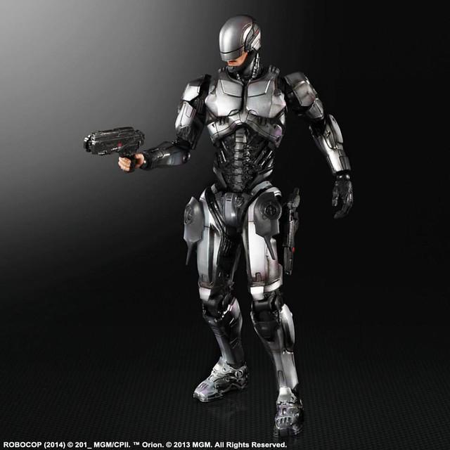 Play Arts改 機器戰警  Robocop Ver. 1.0 和3.0 版本