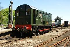 D3940 (08772) 27th May 2012 NNR Diesel Gala Sheringham Station (Ian Sharman 1963) Tags: station train diesel north norfolk may engine railway loco class gonk gala sheringham 08 27th 2012 shunter nnr d3940 08772