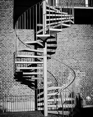 Stairs (Jaedde & Sis) Tags: stairs shadow spiral curves metal 15challengeswinner herowinner bigmomma flickrchallengewinner flickrchallengegroup pregamewinner