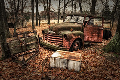 Left for dead (Notkalvin) Tags: chevrolet abandoned truck rust rusty chevy rusting inthewoods mikekline michaelkline notkalvin notkalvinphotography
