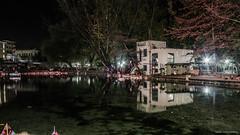 Santa Barbara, Drama (Nafsika Chatzitheodorou) Tags: santa night boats lights greece barbara drama      dramaica