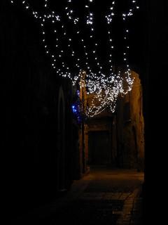 Saint-Guilhem-le-Désert (34), illuminations 2011
