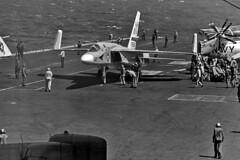RA-5C Vigilante BuNo 156632 (skyhawkpc) Tags: airplane us aircraft aviation navy naval usnavy usn seaking sikorsky vigilante northamerican usskittyhawk hs8 sh3d militaty 154116 cva63 156632 nh602 rvah6fleurs ra5ca3j3p