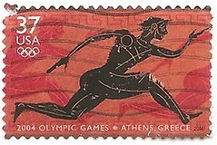 USA stamp - Athens Olympics 2004 (sftrajan) Tags: usa unitedstates stamps stamp timbre postagestamp philately olympiad sello stampcollecting briefmarke  francobollo athensolympics