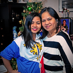 Mother and Daughter (Reg|Photography4Lyfe) Tags: christmas girls portrait photography women holidays sony portraiture filipino 1855mm 2013 dslra230