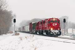 CP 6239 at MN&S Junction (shawn_christie1970) Tags: minnesota unitedstates crystal canadianpacific cp sd60 cp6252 cp6239 cp49028