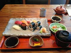 Sushi Set in Shimogamo