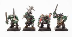 Da Boyz (s1price) Tags: miniature rpg warhammer gamesworkshop orcs