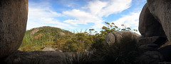 Castle Rock Summit I (madfuzz1982) Tags: autostitch panorama landscape rocks stitch australia wideangle hills granite westernaustralia poronogorup