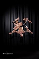 Intertwined (Nakean) Tags: justin men circus stage curtain ropes cirque trapeze cirquedusolei sanca athelets thomasevans nostrobistinfo removedfromstrobistpool seerule2 nakeanphotography flashmstrobes