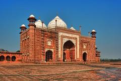 Agra IND - Jawab Taj Mahal west side 01