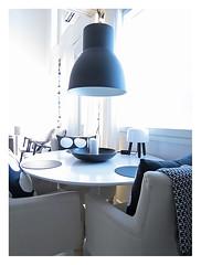 Ikea Hektar ceiling lamp (Jaana H-N) Tags: blackandwhite ikea home kitchen lamp milk interiordesign tablelamp diningtable nordicdesign hektar andtradition normarchitects olawihlborg