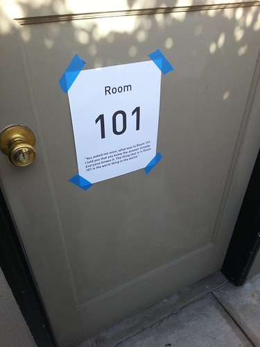 No!  Not Room 101!