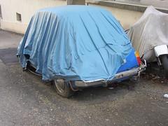 Fiat 500 (v8dub) Tags: auto old car dead junk automobile fiat decay rusty automotive voiture 500 wreck scrap aircooled schrott wrack wagen pkw pave