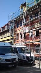 Baustelle-Denkmalschutz-Innenstadt-Fenster-Türen
