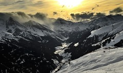 Sunset over Tuxertal (Pe_Wu) Tags: mountain snow ski alps austria tux zillertal tuxertal rastkogel