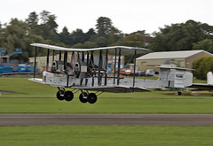 Vickers Vimy (Bernie Condon) Tags: plane aircraft aviation preserved ww1 bomber vickers brooklands vimy