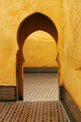 Maroc (Karim Skalli) Tags: africa travel light colour history texture tourism composition contrast canon photography doors natural entrance culture medieval doorway morocco fez maroc medina framing unposed documentation rabat decisivemoment relegion canon500d