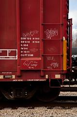 (Making_History) Tags: train graffiti boxcar streaks freight handstyle monikers benching moninker