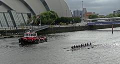 Kamsar (Bricheno) Tags: river scotland riverclyde clyde boat glasgow escocia tug secc armadillo szkocja schottland rowers scozia cosse kamsar  esccia   bricheno scoia