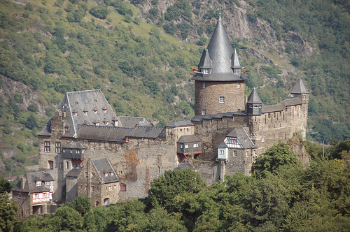 Die Burg Stahleck in Bacharach by sodele, on Flickr