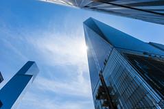 One World Trade Center (Lee Chu) Tags: newyork unitedstates sunburst sonynex6 sel1018
