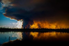 Northwest Territories Forest Fire by KyleWiTh, on Flickr