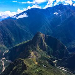 From Machu Picchu mountain