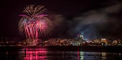 Fire Fountain.jpg (Darren Berg) Tags: night fireworks explore madison 4thofjuly lakemonona explored