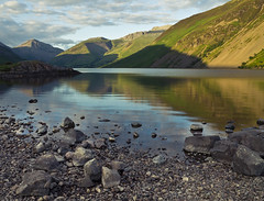 Wastwater-Colour (CM2014UK) Tags: uk travel england lake mountains water landscape photography rocks northwest district lakes lakedistrict cumbria