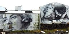 No Exit, Murals around Old Harbour, Reykjavia, Iceland (Snuffy) Tags: noexit murals oldharbour reykjavik iceland vanhelten andrskolbeinsson jeanpaulsartre